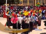 Los colegios José Antonio Encinas y Domingo Savio ocuparon los primeros puestos en el  concurso escolar de sicuris el cual dio inicio a las celebraciones por el  aniversario número 87 de la provincia de San Román.