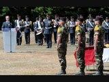 Hommage aux militaires Français
