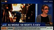 BFM Story: Spirale de violences en Ukraine: au moins 100 morts à Kiev - 20/02