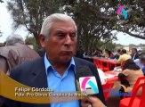 El Gobierno Regional de La Libertad entregó a los pobladores de Moche la carretera Santa Rosa – Huacas del Sol y La Luna.