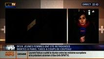 Le Soir BFM: Paris: Deux femmes retrouvées égorgées dans le 14ème arrondissement - 20/02 2/4