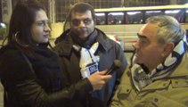 LAZIO-LUDOGORETS 0-1 . INTERVISTE TIFOSI (19-02-14)