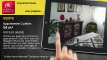 A vendre - appartement - POITIERS (86000) - 2 pièces - 54m²