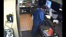 Pizza Hut Manager Caught Peeing In Sink - Pizza Hut