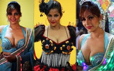 TANISHA SINGH PHOTO SHOOT WEARING REAL GOAT MEAT DRESS LIKE LADY GAGA | Just Hungama | Bollywood News