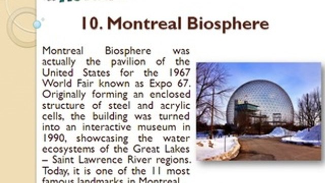 11 Most Famous Landmarks in Montreal, Canada