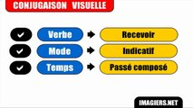Learn French # 44 minutes to discover 67 verbs at the French Compound Past Tense = Passé composé