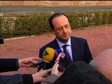 """Hollande: """"Nous devons être du côté de ceux qui demandent la liberté et le vote""""  en Ukraine - 21/02"""
