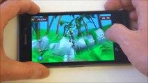 Sony Xperia Z1 - демонстрация работы