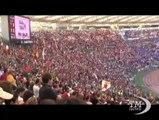 Curve chiuse, Ultras dell'amore cantano: Ci avete rotto il calcio. La risposta satirica di Rete Sport che ha rivisitato i coripuliti