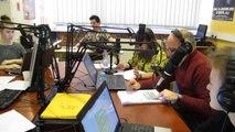 Sur le plateau de Radio FL au lycée Gustave-Eiffel d'Armentières