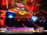 AMERICA ESPECTACULOS 21-02-2014 : Gino Assereto dijo no sentir celos de presencia de Jazmín Pinedo en The Choice