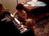 Léo et David ... grands musiciens