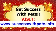 Success With Pete Review -   Peter Worthington Does It Really Work  Is it Scam Or Legit Partner With Peter And He Will Create  A Free Commission Website And Get A Free Domain Name 2014 Successful With Pete Testimonials And Reviews