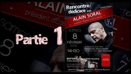 Rencontre / Dédicace avec Alain Soral à Bordeaux le 8 Février 2014_partie1