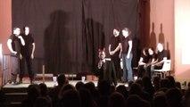 impro show à Saint-Pierre du Vauvray, avec la compagnie acapella impro