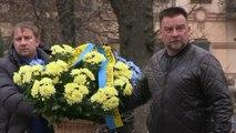 Ukraine: aux funérailles d'un artiste, la fierté et l'espoir de ses amis