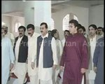 Chairman PPP Bilawal Bhutto Zardari, former PM Syed Yousuf Raza Gilani and Chief Minister Sindh arrived at Garhi Khuda Bux Bhutto