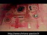 speed painting #3 tableau abstrait , peinture acrylique, decoration moderne et design