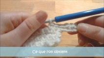 Cours de crochet N°09 - Augmentation de plusieurs mailles en début de rang