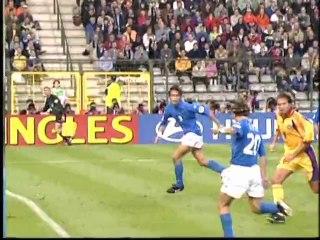 EURO 2000 Quarter Final: Italy 2 Romania 0
