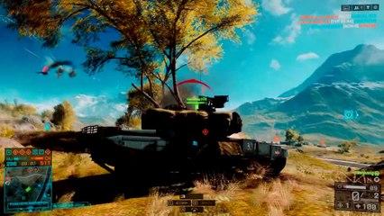 Battlefield 4: Tank Montage China Rising