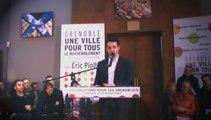 Discours de l'ancienne bibliothèque : Eric Piolle présente ses 120 engagements pour Grenoble