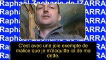 Un élogieux outrage - Raphaël Zacharie de IZARRA Ma situation me convient à moi, elle ne convient pas nécessairement au voisin