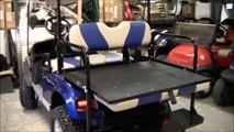 Beautiful Ezgo ST Custom Golf Cart by Best Buy Golf Carts in North Florida