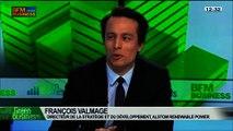 Alstom et les renouvelables: Patricia Laurent, François Valmage et Pierre Nougué, dans Green Business – 23/02 3/4