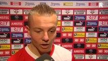 28-04-2013 Jordy Clasie na Feyenoord - Heracles Almelo