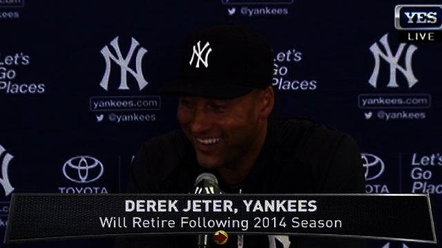 Derek Jeter Talks Retirement