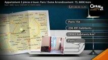 Appartement 2 pièces à louer, Paris 15eme Arrondissement  75, 880€/mois