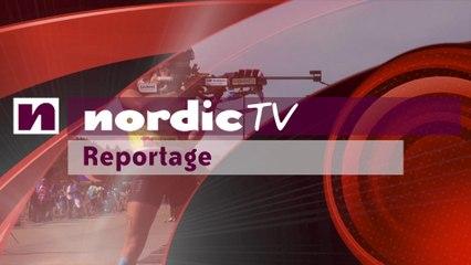 Martin Fourcade en stage en Italie (Nordic TV)