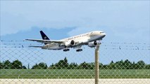 FSX Saudi Arabian Boeing 777 Touch and Go ( HD )