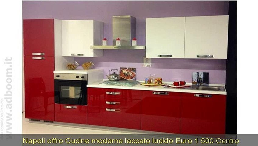 NAPOLI, VILLARICCA CUCINE MODERNE LACCATO LUCIDO EURO 1.500