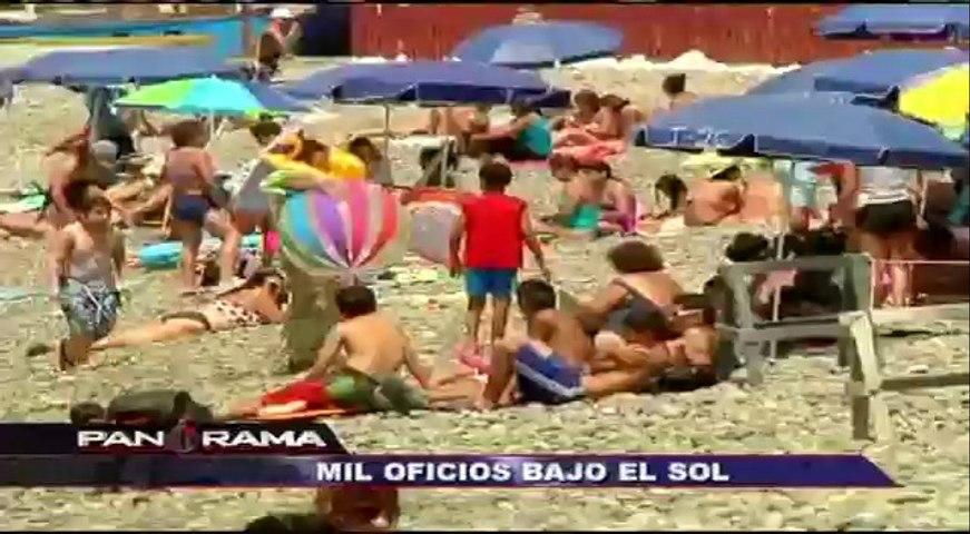 Mil oficios bajo el sol: un día como ambulante en las playas de Lima (1/2)   Godialy.com