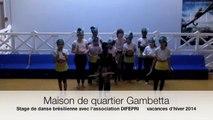 spectacle de danse brésilienne