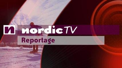 Adrien Mougel et Bastien Poirrier rusés à l'Envolée nordique (Nordic TV)