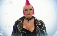 Transformation extrême d'une punk en fille sexy