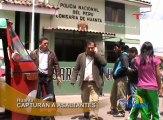 En Huanta, la policía capturó a cuatro integrantes de la banda que asaltó en la carretera Huanta – Huancayo a trabajadores municipales que trasladaban más de cien mil nuevos soles.