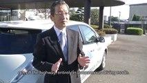 Nissan LEAF Autonomous Drive 1st Highway Test