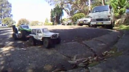 JRC productions - Scale RC Trailer Testing - Teaser