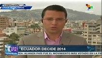 Quito, Guayaquil y Cuenca en manos de la oposición ecuatoriana