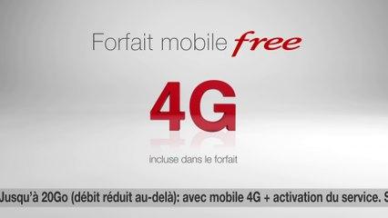 Free Mobile 4G : découvrez le nouveau spot TV du forfait 15,99€/19,99€