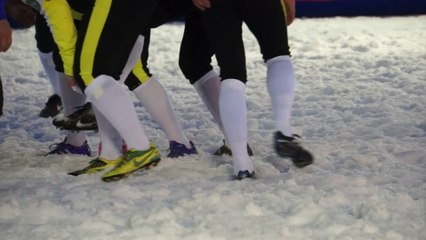 SNOWRUGBY BEST OF LA CLUSAZ 2014