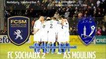 Sochaux 0 Moulins 2 les buts