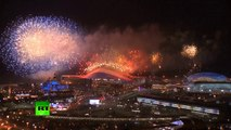 Fireworks Farewell: Sochi closing ceremony ends in spectacular show