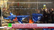 Kiev Warzone: New deadly wave of violence rages in Ukraine