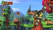 Donkey Kong Country: TF. Molinos molones 2-1 - Gameplay - 100% puzzles y letras